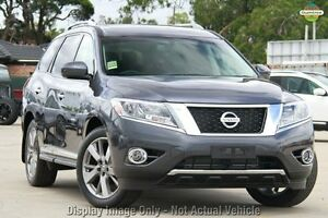 2016 Nissan Pathfinder R52 MY15 UPGRAD TI (4x4) Gun Metallic Continuous Variable Wagon Baulkham Hills The Hills District Preview