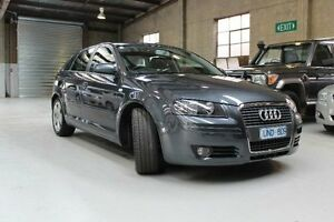 2007 Audi A3 8P Ambition Silver Sports Automatic Hatchback Knoxfield Knox Area Preview
