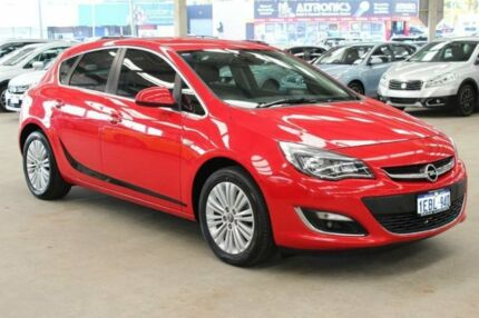 2012 Opel Astra SELECT AS Red Manual Hatchback