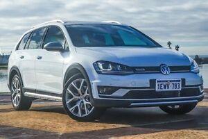 2015 Volkswagen Golf VII MY16 Alltrack DSG 4MOTION 132TSI White 6 Speed Sports Automatic Dual Clutch Bunbury Bunbury Area Preview