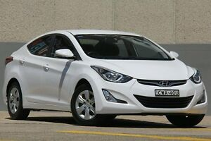 2014 Hyundai Elantra MD Series 2 (MD3) Active White 6 Speed Automatic Sedan Wolli Creek Rockdale Area Preview
