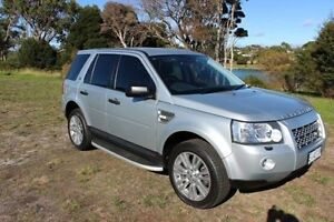 2010 Land Rover Freelander 2 LF 10MY Si6 SE Silver 6 Speed Sports Automatic Wagon Burnie Burnie Area Preview