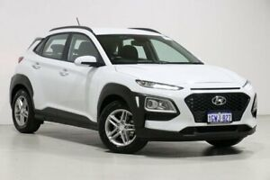 2019 Hyundai Kona OS.2 MY19 Active (FWD) White 6 Speed Automatic Wagon Bentley Canning Area Preview