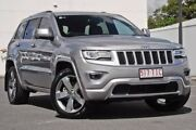 2013 Jeep Grand Cherokee WK MY2013 Overland Silver 5 Speed Sports Automatic Wagon Mount Gravatt Brisbane South East Preview