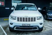 2014 Jeep Grand Cherokee WK MY2014 Limited White 8 Speed Sports Automatic Wagon Pennant Hills Hornsby Area Preview