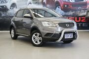 2012 Ssangyong Korando C200 S 2WD Sable Grey 6 Speed Sports Automatic Wagon Rockingham Rockingham Area Preview