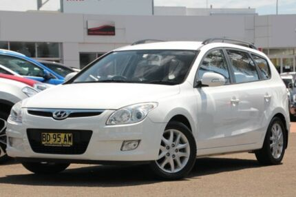 2009 Hyundai i30 FD MY09 CW SLX 2.0 White 4 Speed Automatic Wagon Brookvale Manly Area Preview