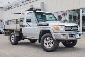 2011 Toyota Landcruiser Silver Manual Cab Chassis Willagee Melville Area Preview