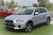2014 Mitsubishi ASX XB MY15 LS 2WD Silver 6 Speed Constant Variable Wagon Berwick Casey Area Preview