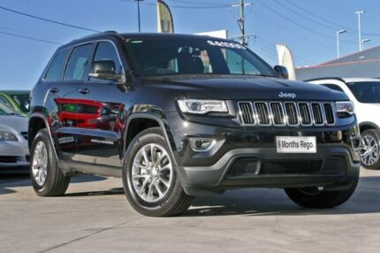 2015 Jeep Grand Cherokee WK MY15 Laredo Black/Grey 8 Speed Sports Automatic Wagon Hillcrest Logan Area Preview