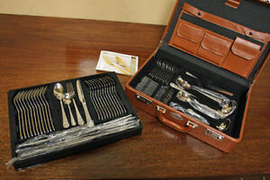 BRAND NEW! Carl Weill Stainless & SILVER Cutlery SEE VIDEO
