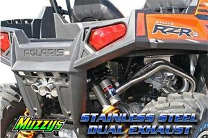 MUZZY ATV Stainless Exhaust & FUEL CONTROLLERS MUZZY Kingston Kingston Area image 6
