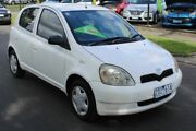2002 Toyota Echo NCP10R White 4 Speed Automatic Hatchback Tottenham Maribyrnong Area Preview
