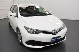 2015 Toyota Corolla ZRE182R MY15 Ascent Glacier White 7 Speed CVT Auto Sequential Hatchback