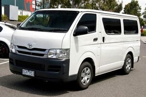 2009 Toyota Hiace KDH201R MY08 LWB White 5 Speed Manual Van Mill Park Whittlesea Area Preview