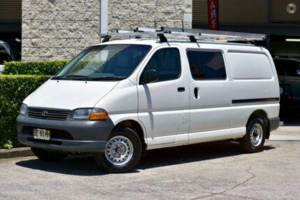 2003 Toyota Hiace RZH113R LWB White 5 Speed Manual Van