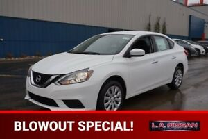 2017 Nissan Sentra S 1.8 Bluetooth, Keyless Entry,