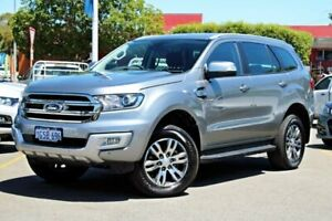 2018 Ford Everest UA 2018.00MY Trend 4WD Silver 6 Speed Sports Automatic Wagon