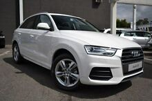 2015 Audi Q3 8U MY15 White 7 Speed Sports Automatic Dual Clutch Wagon Burwood Whitehorse Area Preview