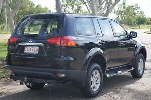 2012 Mitsubishi Challenger PB (KG) MY12 LS Black Pearlescent 5 Speed Manual Wagon Winnellie Darwin City Preview