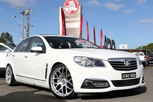 2013 Holden Calais VF MY14 V White 6 Speed Sports Automatic Sedan Liverpool Liverpool Area Preview