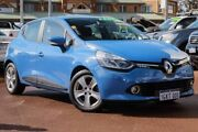 2015 Renault Clio IV B98 Expression EDC Blue 6 Speed Sports Automatic Dual Clutch Hatchback Clarkson Wanneroo Area Preview