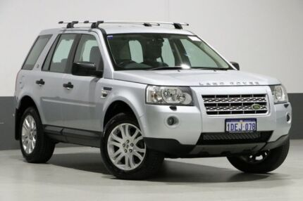 2009 Land Rover Freelander 2 LF MY10 SE TD4 (4x4) Silver 6 Speed Automatic Wagon Bentley Canning Area Preview