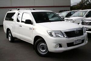 2013 Toyota Hilux White Automatic Utility Frankston Frankston Area Preview