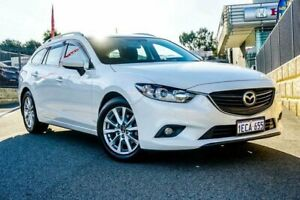 2012 Mazda 6 6C Sport White 6 Speed Automatic Wagon Wangara Wanneroo Area Preview