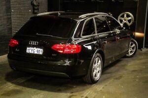 2008 Audi A4 B8 8K Avant Multitronic Black 8 Speed Constant Variable Wagon