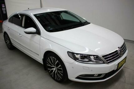 2015 Volkswagen CC Type 3CC MY15 130TDI DSG White 6 Speed Sports Automatic Dual Clutch Coupe
