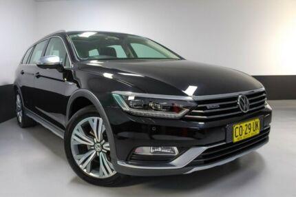 2015 Volkswagen Passat Type 3C MY15 Alltrack DSG 4MOTION Black 6 Speed Sports Automatic Dual Clutch Hamilton East Newcastle Area Preview