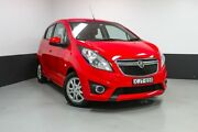 2013 Holden Barina TM MY13 CD Red 6 Speed Automatic Hatchback Hamilton East Newcastle Area Preview