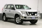 2014 Toyota Landcruiser Prado KDJ150R MY14 GX (4x4) Silver 5 Speed Sequential Auto Wagon Bentley Canning Area Preview