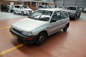 1992 Daihatsu Charade G100 TS Silver 3 Speed Automatic Hatchback Maryville Newcastle Area Preview