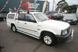 1996 Mazda Bravo B2600 SDX White 4 Speed Automatic Utility Kingsville Maribyrnong Area Preview