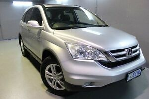 2011 Honda CR-V RE MY2011 Luxury 4WD Silver 5 Speed Automatic Wagon Invermay Launceston Area Preview