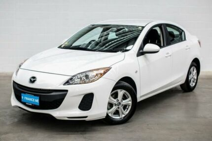 2013 Mazda 3 BL10F2 MY13 Neo Activematic White 5 Speed Sports Automatic Sedan Thornlie Gosnells Area Preview