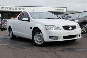 2012 Holden Ute VE II MY12.5 Omega White 6 Speed Sports Automatic Utility Nunawading Whitehorse Area Preview