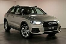 2015 Audi Q3 8U MY16 TFSI S tronic Silver 6 Speed Sports Automatic Dual Clutch Wagon North Melbourne Melbourne City Preview