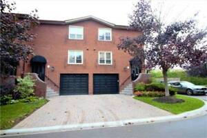 Rarely Offered Bayview Village End-Unit Townhouse On Cul-De-Sac