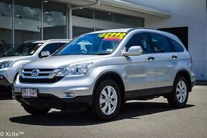 2012 Honda CR-V RE MY2011 4WD Alabaster Silver 5 Speed Automatic Wagon Garbutt Townsville City Preview