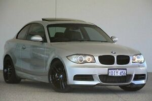 2008 BMW 135I E82 Sport Steptronic Silver 6 Speed Sports Automatic Coupe Wangara Wanneroo Area Preview