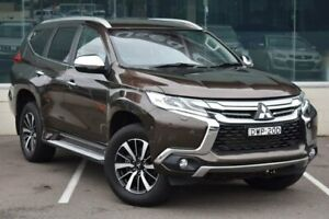2016 Mitsubishi Pajero Sport QE MY16 Exceed Bronze 8 Speed Sports Automatic Wagon Cardiff Lake Macquarie Area Preview