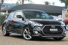 2015 Hyundai Veloster FS3 SR Turbo Black 6 Speed Automatic Coupe Rosebery Inner Sydney Preview