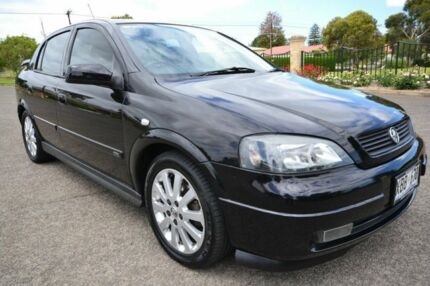 2003 Holden Astra TS CDX Black 5 Speed Automatic Hatchback Blair Athol Port Adelaide Area Preview
