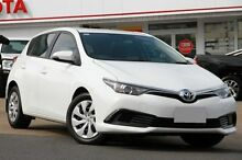 2015 Toyota Corolla ZRE182R Ascent S-CVT White 7 Speed Constant Variable Hatchback Woolloongabba Brisbane South West Preview