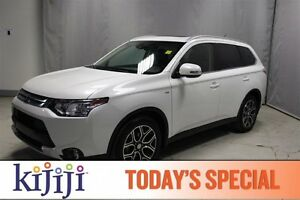 2015 Mitsubishi Outlander AWC GT Navigation (GPS),  Leather,  He