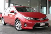 2013 Toyota Corolla ZRE182R Ascent Sport S-CVT Red 7 Speed Constant Variable Hatchback Springwood Logan Area Preview