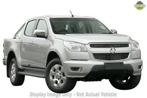 2013 Holden Colorado RG MY13 LTZ Crew Cab Silver 6 Speed Sports Automatic Utility Willagee Melville Area Preview